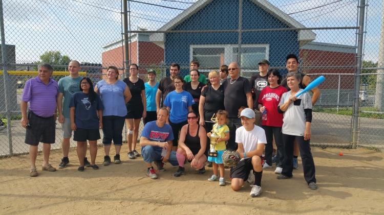 Partie de baseball / Bingo Lachine