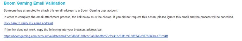 email de confirmation