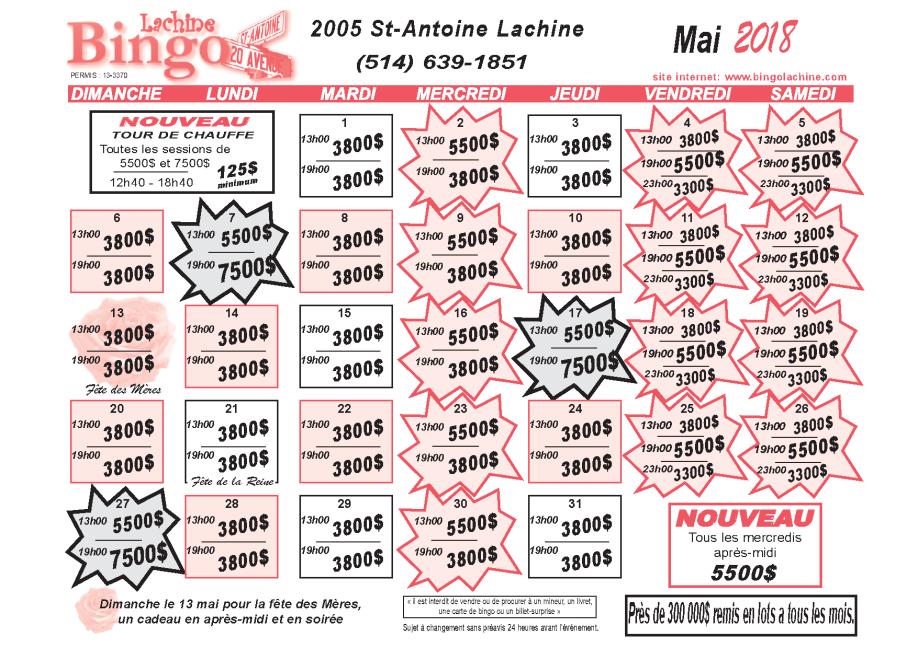 Mai 2018 Lachine